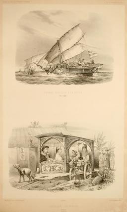 Transports dans les Moluques en 1838. Source : http://data.abuledu.org/URI/59816102-transports-dans-les-moluques-en-1838