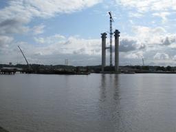 Travaux du pont Bacalan en novembre 2011. Source : http://data.abuledu.org/URI/54436cbb-travaux-du-pont-bacalan-en-novembre-2011
