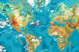 Traversée de Christophe Colomb. Source : http://data.abuledu.org/URI/55a28cf1-traversee-de-christophe-colomb