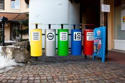 Tri des déchets en Suisse. Source : http://data.abuledu.org/URI/5102645a-tri-des-dechets-en-suisse
