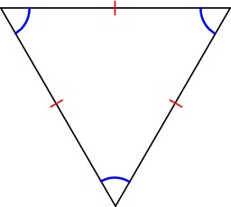 Triangle equilateral. Source : http://data.abuledu.org/URI/5180c725-triangle-equilateral
