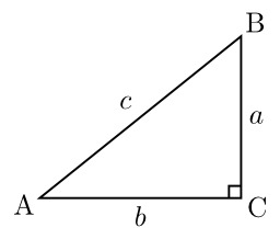 Triangle rectangle. Source : http://data.abuledu.org/URI/5185731f-triangle-rectangle