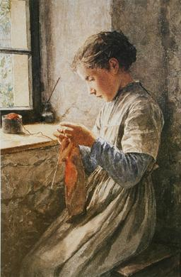 Tricot à la fenêtre. Source : http://data.abuledu.org/URI/519facd5-tricot-a-la-fenetre