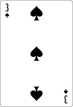 Trois de pique. Source : http://data.abuledu.org/URI/53b67bbf-trois-de-pique