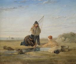 Trois jeunes pêcheurs en 1870. Source : http://data.abuledu.org/URI/58caed9e-trois-jeunes-pecheurs-en-1879