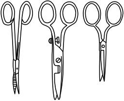Trois paires de ciseaux. Source : http://data.abuledu.org/URI/53e934c9-trois-paires-de-ciseaux