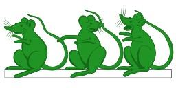 Trois souris vertes. Source : http://data.abuledu.org/URI/52ed396a-trois-souris-vertes