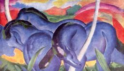 Troupeau de chevaux bleus. Source : http://data.abuledu.org/URI/52eec254-troupeau-de-chevaux-bleus