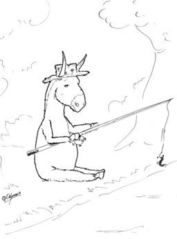 Un âne et un asticot. Source : http://data.abuledu.org/URI/536ecbcf-un-ane-et-un-asticot