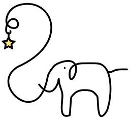Un éléphant et une étoile. Source : http://data.abuledu.org/URI/50478b31-un-elephant-et-une-etoile