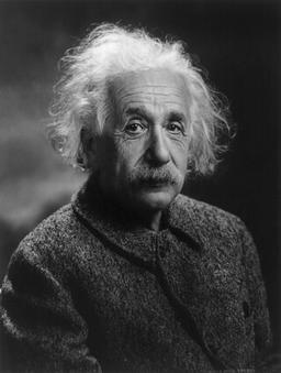 Un génie, Albert Einstein. Source : http://data.abuledu.org/URI/5045266f-un-genie-albert-einstein