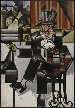 Un Homme au Café. Source : http://data.abuledu.org/URI/51003097-un-homme-au-cafe
