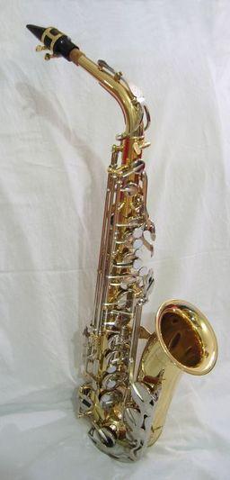 Un saxophone. Source : http://data.abuledu.org/URI/5018f8e9-un-saxophone