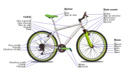 Une bicyclette. Source : http://data.abuledu.org/URI/50d58c87-une-bicyclette