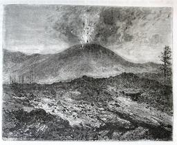 Une éruption de l'Etna. Source : http://data.abuledu.org/URI/56bb9db5-une-eruption-de-l-etna
