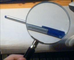 Une loupe. Source : http://data.abuledu.org/URI/47f3863f-une-loupe