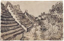 Une rue aux Saintes-Maries-de-la-Mer en 1888. Source : http://data.abuledu.org/URI/5515cd88-une-rue-aux-saintes-maries-de-la-mer-en-1888