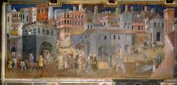 Une ville médiévale bien gouvernée. Source : http://data.abuledu.org/URI/524d1577-une-ville-medievale-bien-gouvernee