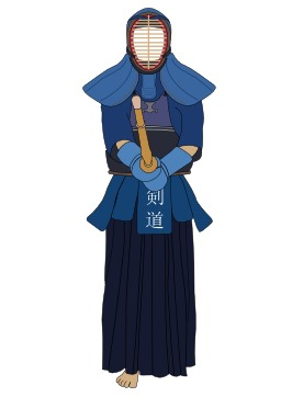 Uniforme de kendo. Source : http://data.abuledu.org/URI/5473b0c3-uniforme-de-kendo