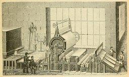 Usine de pâte à papier. Source : http://data.abuledu.org/URI/524d7699-usine-de-pate-a-papier