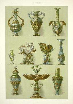 Vases de style Art nouveau. Source : http://data.abuledu.org/URI/50facfa0-vases-de-style-art-nouveau