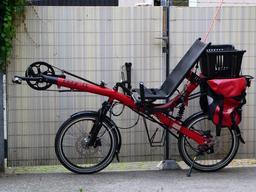 Vélo couché de randonnée. Source : http://data.abuledu.org/URI/51fb5b39-velo-couche-de-randonnee