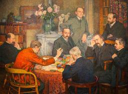 Verharen et la lecture en 1903. Source : http://data.abuledu.org/URI/591b7445-verharen-et-la-lecture-en-1903