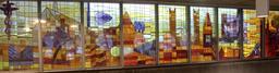 Verrières thématiques dans le métro de Montréal. Source : http://data.abuledu.org/URI/59788d5f-verrieres-thematiques-dans-le-metro-de-montreal