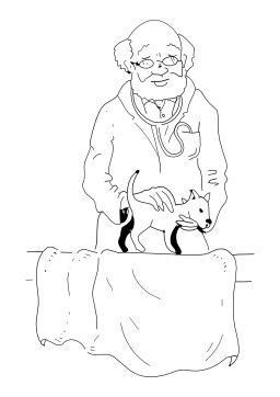Vétérinaire. Source : http://data.abuledu.org/URI/5027d7ef-veterinaire