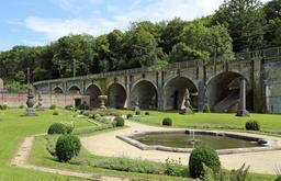Basilique du Sacré-Cœur à France Miniature. Source : http://data.abuledu.org/URI/56459515-viadc-ferroviaire-de-villers-la-ville-en-belgique
