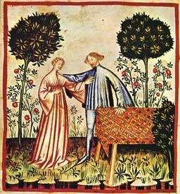 Vie quotidienne au Moyen Age : la joie. Source : http://data.abuledu.org/URI/50caef72-vie-quotidenne-au-moyen-age-la-joie