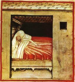 Vie quotidienne au Moyen Age : insomnie. Source : http://data.abuledu.org/URI/50caed7d-vie-quotidienne-au-moyen-age-insomnie