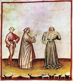 Vie quotidienne au Moyen Age : la colère. Source : http://data.abuledu.org/URI/50cadea3-vie-quotidienne-au-moyen-age-la-colere