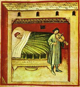 Vie quotidienne au Moyen Age : le sommeil. Source : http://data.abuledu.org/URI/50caeaff-vie-quotidienne-au-moyen-age-le-sommeil