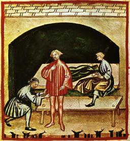 Vie quotidienne au Moyen Age : vêtements de laine. Source : http://data.abuledu.org/URI/50cafff8-vie-quotidienne-au-moyen-age-vetements-de-laine