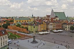 Vieille ville de Varsovie. Source : http://data.abuledu.org/URI/58d01c91-vieille-ville-de-varsovie