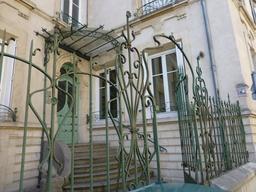 Villa Lejeune près du musée de l'école de Nancy. Source : http://data.abuledu.org/URI/58190241-villa-lejeune-pres-du-musee-de-l-ecole-de-nancy
