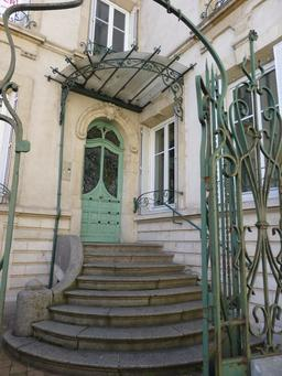 Villa Lejeune près du musée de l'école de Nancy. Source : http://data.abuledu.org/URI/5819026a-villa-lejeune-pres-du-musee-de-l-ecole-de-nancy