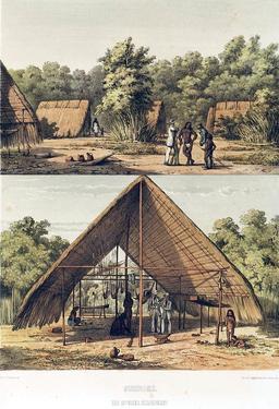Village Arawak en Guadeloupe. Source : http://data.abuledu.org/URI/5295d22d-village-arawak-en-guadeloupe