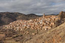 Village médiéval de Moros en Espagne. Source : http://data.abuledu.org/URI/5461eb71-village-medieval-de-moros-en-espagne
