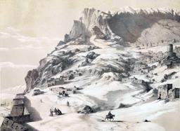 Ville frontière de l'Arménie en 1840. Source : http://data.abuledu.org/URI/565232fb-ville-frantiere-de-l-armenie-en-1840