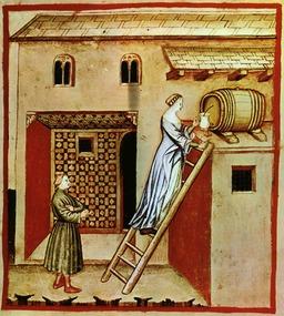 Vinaigre médiéval. Source : http://data.abuledu.org/URI/50c8847c-vinaigre-medieval