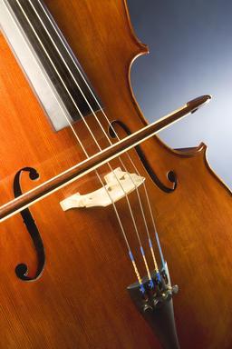 Violoncelle et archet. Source : http://data.abuledu.org/URI/530299df-violoncelle-et-archet
