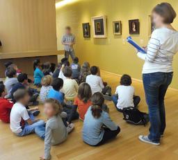 Visite de classe au musée des beaux-arts de Dijon. Source : http://data.abuledu.org/URI/59d6aa7e-visite-de-classe-au-musee-des-beaux-arts-de-dijon