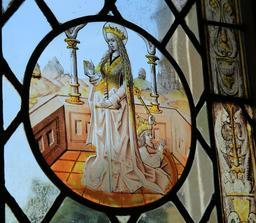Vitrail d'Anne de Bretagne. Source : http://data.abuledu.org/URI/55ccd3a0-vitrail-d-anne-de-bretagne