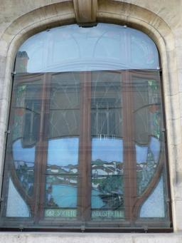 Vitrail de la CCSI à Nancy. Source : http://data.abuledu.org/URI/5819bb56-vitrail-de-la-ccsi-a-nancy