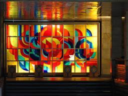 Vitrail de la gare de Mykolaiv. Source : http://data.abuledu.org/URI/54a85a7b-vitrail-de-la-gare-de-mykolaiv