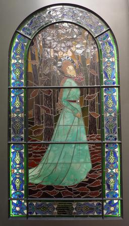 Vitrail du Souvenir d'automne. Source : http://data.abuledu.org/URI/54a87020-vitrail-du-souvenir-d-automne