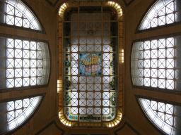Vitraux de la Gare du Palais de Québec. Source : http://data.abuledu.org/URI/54a84fd9-vitraux-de-la-gare-du-palais-de-quebec