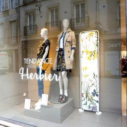 Vitrine de magasin à Dijon. Source : http://data.abuledu.org/URI/59d467d7-vitrine-de-magasin-a-dijon